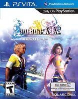 Final Fantasy X | X-2 HD Remaster [Sony PlayStation Vita PS, JRPG Adventure] NEW