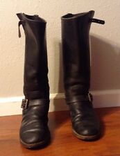 VTG MEN SEARS ENGINEER MOTORCYCLE  LEATHER SOLES BOOT SIZE 10.5