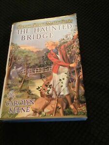 Nancy Drew The Haunted Bridge 1st Print Poor (Acceptable) Condition Applewood