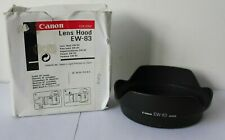Canon Genuine EW-83 Lens Hood for EF 20-35mm f3.5-4.5 USM