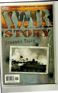VERTIGO COMICS WAR STORY JOHANN'S TIGER! NM!