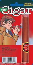 FAKE PUFF SMOKING CIGAR BLOWS SMOKE FANCY DRESS GANGSTER STAGE PROP PRESENT