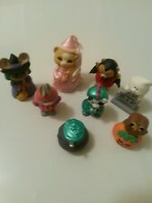 1993 Hallmark Halloween Merry Miniatures - Eight *New*