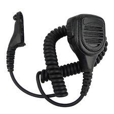 Waterproof Handheld Speaker Mic for Motorola XPR6550/6500 XIRP8268 DP3400 Black