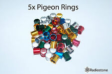 Pigeon Rings Aluminum Rings For Pigeons 5 pcs. US Seller
