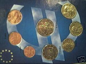 2011 GRECIA 8 monete 3,88 EURO fdc greece grece griechenland Греция toro bull