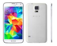 """Débloqué Téléphone 5.1"""" Samsung Galaxy S5 G900P 4G 16GB 16MP GPS WIFI - Blanco"""