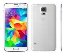"""5.1"""" Samsung Galaxy S5 SM-G900P 16GB 4G LTE 16MP GPS Débloqué Téléphone Blanc"""