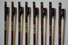 10 pcs New Professional 4/4 Violin Bow Superior Brazil wood ebony frog