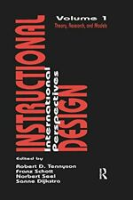 Instructional Design: International Perspective, Dijkstra, Sanne,,