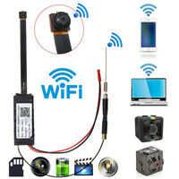 Full HD 1080P WiFi Wireless IP P2P Hidden Spy Camera DIY Module DV Mini DVR YR