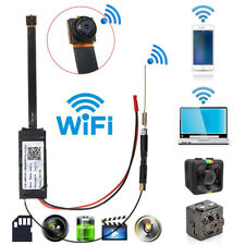 Full HD 1080P WiFi Wireless IP P2P Hidden Spy Camera DIY Module DV Mini DVR