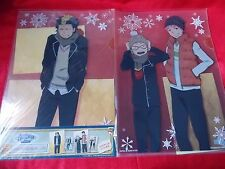 NEW! BLUE EXORCIST TWO A4 Size FILE FOLDERS & TWO A6 Stickers SET E UK DESPATCH