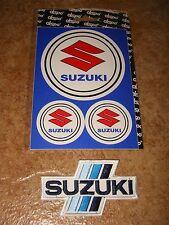 Aufkleber Suzuki + Aufnäher Suzuki (S2021)