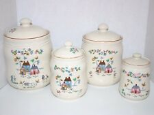 Heartland set of 4 canisters by International China Company