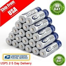 20pcs AA BTY Rechargeable Battery 3000mAh Ni-MH 1.2V Battery USPS Free Ship CA