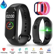 Smartwatch Bluetooth Fitness Armbanduhr Fitnesstracker Uhr Sportuhr Wasserfest