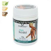 NEW HEALTHWISE INOSITOL 150g