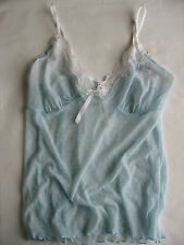 ANTZ PANTZ, Camisole in Size 12, Colour in Baby Blue and White