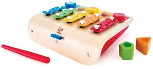 Hape SHAPE SORTER XYLOPHONE Pre-School Young Children Wooden Toy Game BN