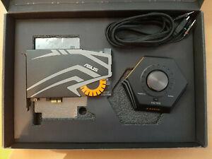 Asus Strix Raid Pro interne Gaming Soundkarte 116db SNR Audio-Box 7.1 Dolby