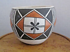 VINTAGE ACOMA POTTERY SMALL CUP/BOWL, ACOMA, N.M.
