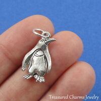Silver PENGUIN Arctic Bird CHARM PENDANT