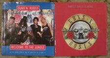LOT of 2 GUNS N' ROSES 45rpm Picture Sleeves (only)