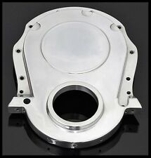 BBC CHEVY ALUMINUM TIMING CHAIN COVER ALUMINUM # S-8436 COVER ONLY