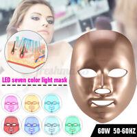 LED Light Photon Facial Mask Skin Care Rejuvenation Face Body Beauty Therapy