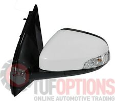 Ford FG & FGX Falcon LH Door Mirror With Blinker WINTER WHITE 5/8-10/16
