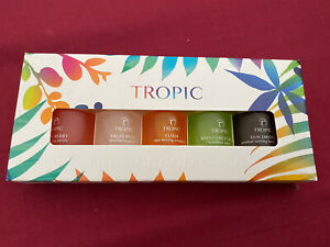 Tropic Skincare Mini Serum Set Glow Berry Fruit Peel Rainforest ELIXIR Sundrops