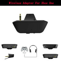 1x Stereo Headset Headphone Audio Game Wireless Adapter For Xbox One Controller