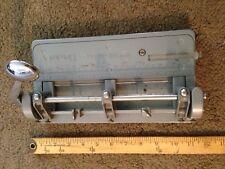 Vintage Wilson Jones Hummer Heavy Duty Industrial Adjustable 3 Hole Punch #314