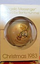Schmid Angelic Messenger Inspired by Berta Hummel Christmas 1983 Ornament