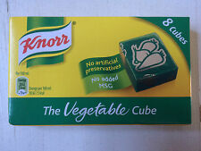 Knorr Vegetable Stock Cubes, 8 x 10g Cubes, Gluten Free