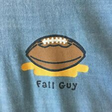 Life Is Good Fall Guy Football Long Sleeve Tee Shirt Men's Small S NWOT