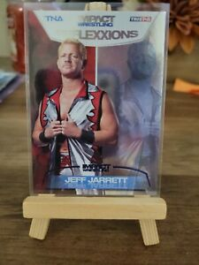 2012 Tristar TNA Impact Reflexxions Jeff Jarrett Blue Parallel /40