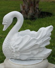 Statue sygne- pot de fleurs en pierre reconstituée, ton pierre blanche