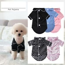 Us Pet Dog Cat Pajamas Style Jumpsuit Clothes For Small Medium Pet Apparel