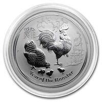 Australien 0,5 oz 1/2 Unze Lunar II Jahr des Hahn 2017 Perth Mint 999 Silber