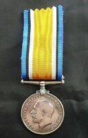WW1 BRITISH WAR MEDAL: 123247 GUNNER BENJAMIN NEWSTEAD. ROYAL FIELD ARTILLERY.