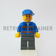 LEGO Minifigures - 1x cty141 - Garage Mechanic - Vintage Town Omino Minifig 7642