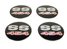 69 70 71 72 Camaro Chevelle Nova Wheel Center Cap Emblem Set SS454