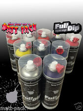 FullDip 400ml Aerosol MATTE - Peelable paint. Spray / Liquid Wrap / Vinyl.