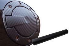 Premium Tankdeckel Tank Deckel Auto PKW Design Folie Set in Schwarz Matt