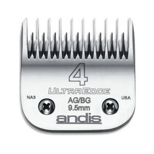 Andis UltraEdge Detachable Blade, Size 4 Skip - Leaves 9.5mm Fits Andis, Wahl, O