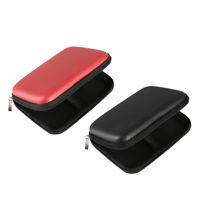2 x USB Hard disk esterno HDD Hard Drive Custodia rigida per il trasporto