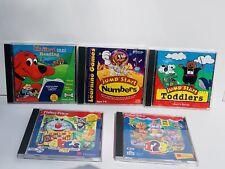Vintage Kids Educational Computer PC CD-ROM Video Game Windows/Mac Lot Of 5