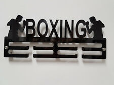 Boxing Medal hanger Medal Holder 2 Tier 5mm acrylic Male Female Personalised